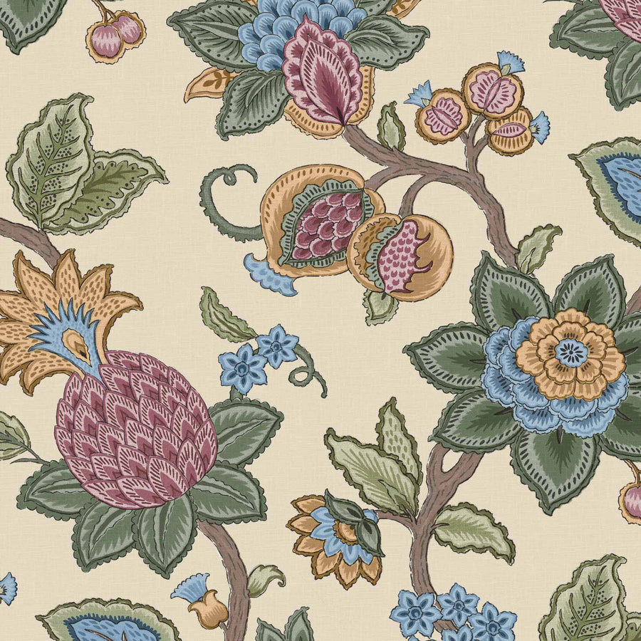 Doris Jacobean Apple Wallpaper