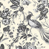 Plumage Charcoal/Cream  Wallpaper By Woodchip & Magnolia