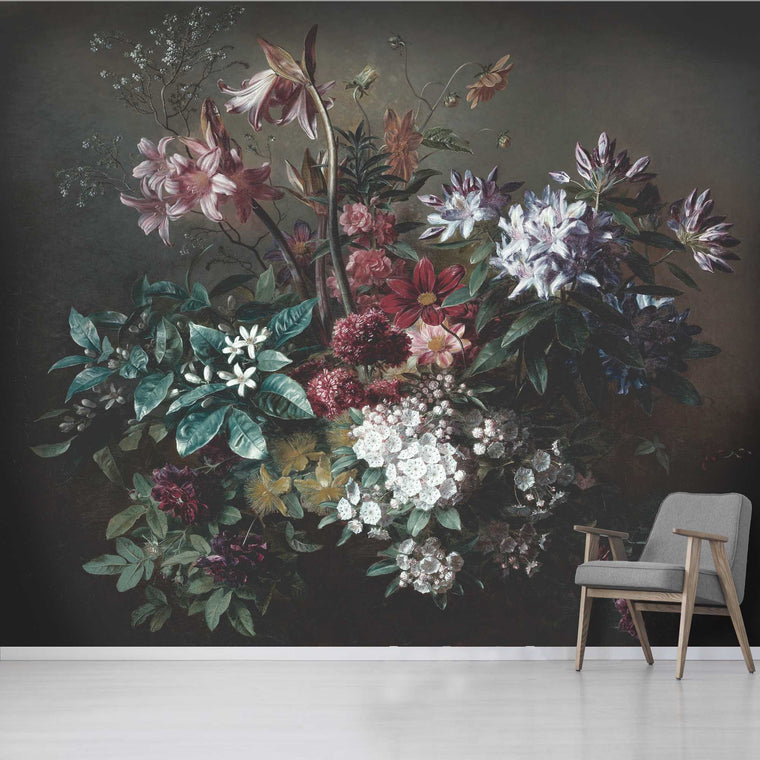 Bouquet Wallpaper Mural