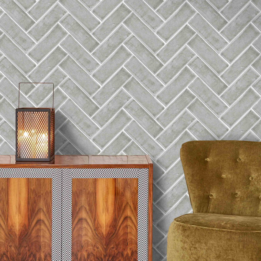 Chevron Grey by Woodchip & Magnolia