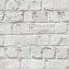 Cracked Painted White Brick