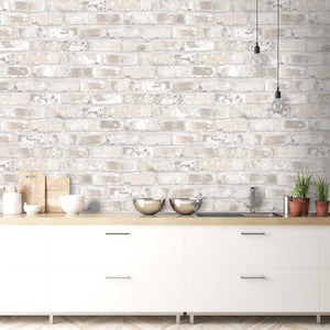 Edgworth Brick Effect Wallpaper