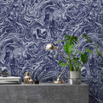 Flow Ink Marble Effect Wallpaper
