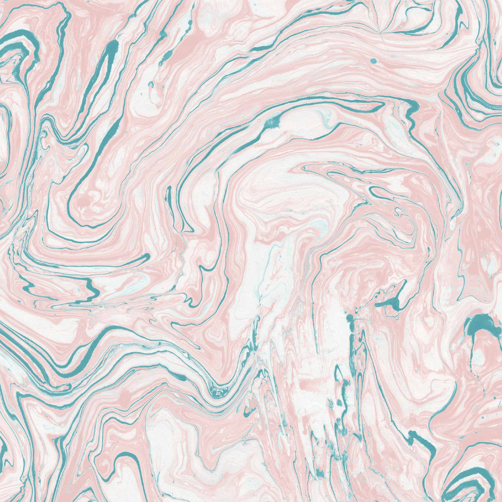Flow in Blush/Teal by Woodchip & Magnolia