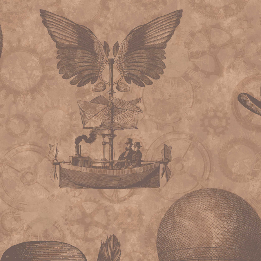 Flying Machines in Tan by Woodchip & Magnolia