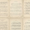 Vintage Music Score by Woodchip & Magnolia