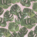 Monstera Green/Blush by Woodchip & Magnolia