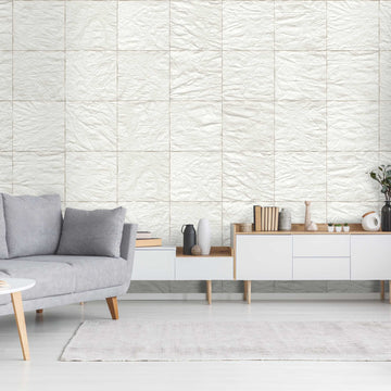Crushed Paper Wallpaper by Woodchip & Magnolia