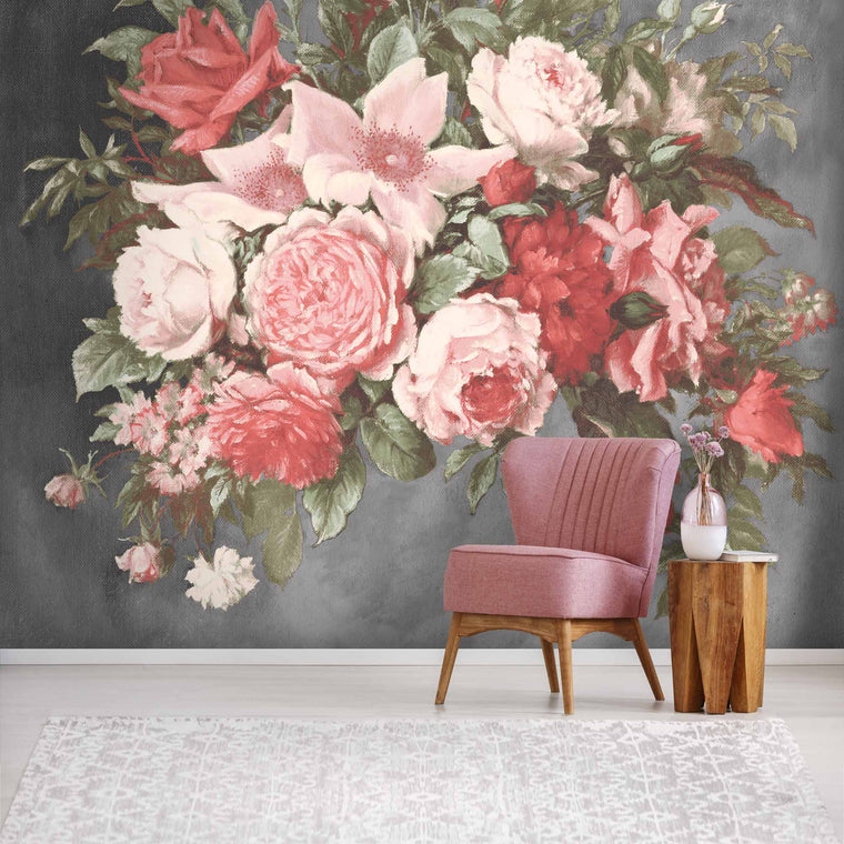 Still Life Rose Wallpaper Mural