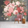 Still life Wall Mural in Rose by Woodchip & Magnolia
