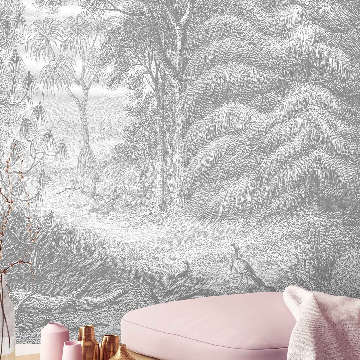 Land of Abundance Wallpaper Wall Mural