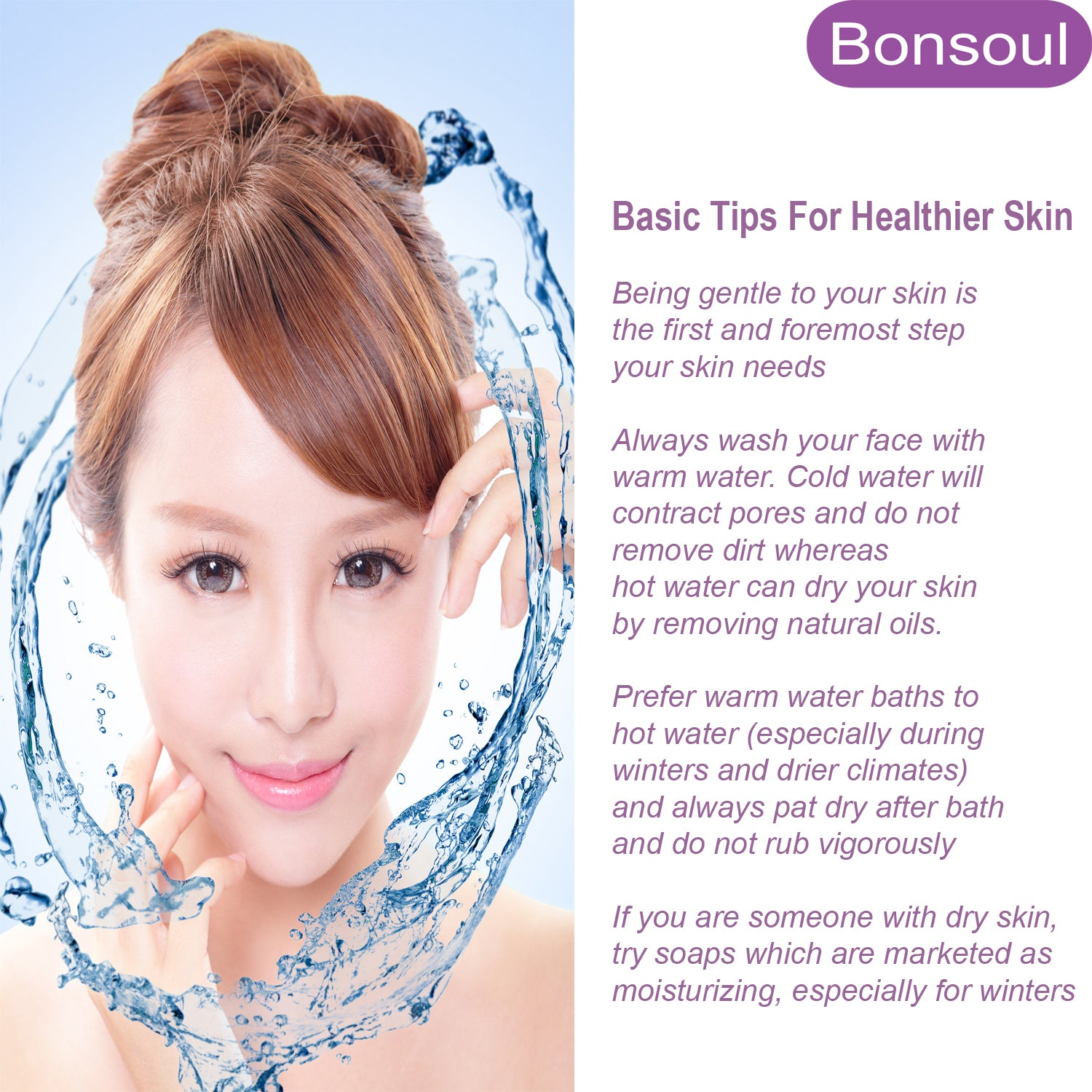 Bonsoul Basic Skin Care Tips