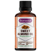 Bonsoul 100% Pure and Natural First Cold Pressed Sweet Almond Oil (Food Grade)