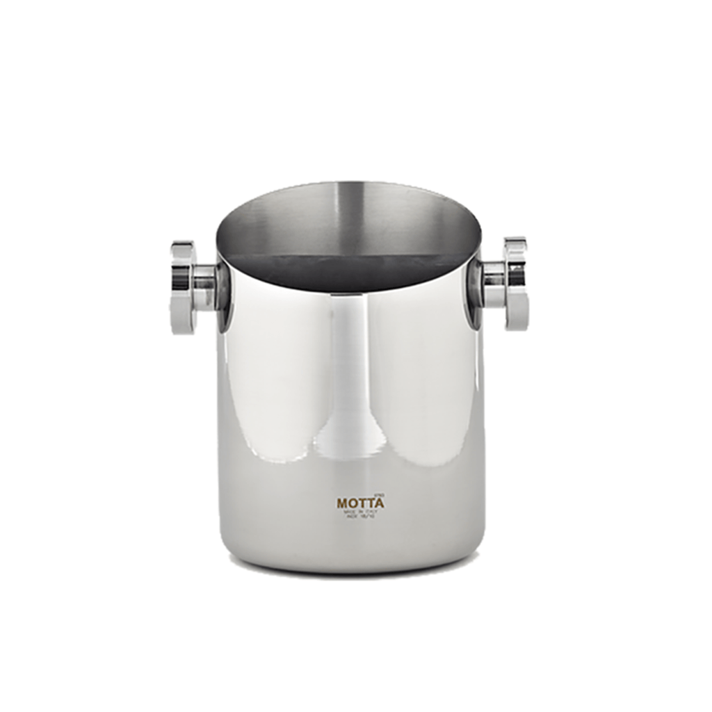 Motta Knock Box Tall - Stainless Steel Tamper Karajoz