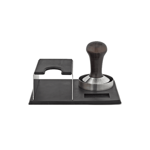 Motta Tamping Kit - Stainless Steel and Black Tamper Karajoz