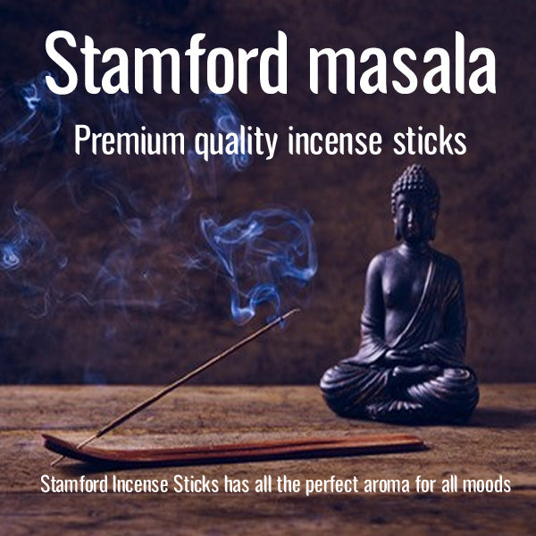 Stamford Incense Sticks Premium Quality Hexagon | Aromatherapy Floral