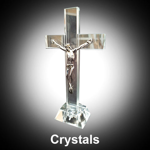 Clear Crystal Cut Glass Ornaments Figurines Status - Bling