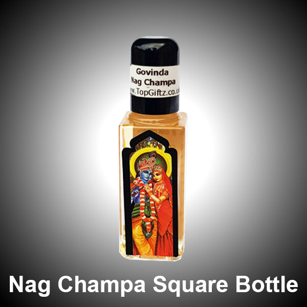 A To Z Govinda Nag Champa Square Bottle Perfume Oil - 9ml