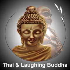 Thai & Happy Laughing Buddha Ornaments, Statues & Figurines
