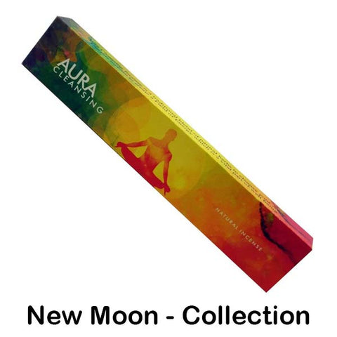 New Moon Aromas Natural Incense Sticks - 15g - Made in IndiaNew Moon Aromas Natural Incense Sticks - 15g - Made in India