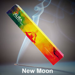 New Moon Aromas Natural Incense Sticks - 15g - Made in India