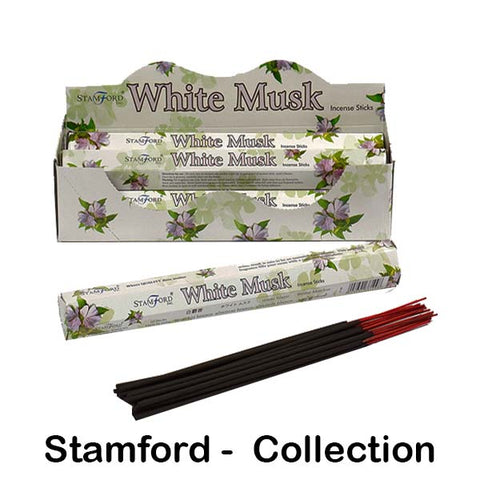 Stamford Incense Sticks Hex Aromatherapy Floral Relaxing Uplifting