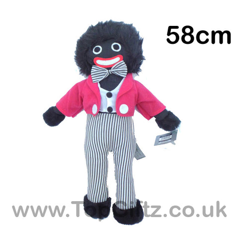 Golliwog Golly Wog Soft Rag Doll Toy 58cm High_1