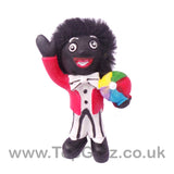 Golliwog Wog Golly Resin 3 Asst Figure Mini holding a beach ball