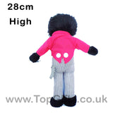 Gollywog Jolly Golly Golliwog Soft Toy Rag Doll 28cm High_4