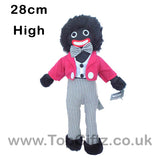Gollywog Jolly Golly Golliwog Soft Toy Rag Doll 28cm High_1