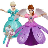 Princess Frozen Anna Infrared Remote Control Rotating Music_7