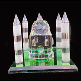 Taj Mahal, Crystal Ornament, Golden Temple, Mosque - TopGiftz