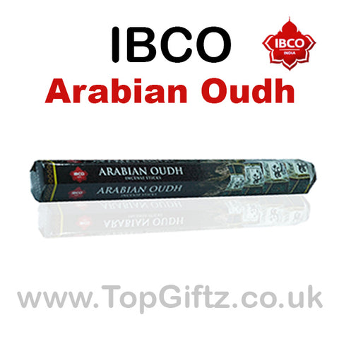 IBCO Arabian Oudh HEX Incense Sticks Old Traditional Masala
