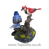 Battery Operated Electronic Birds Singing Moving & Chirping_