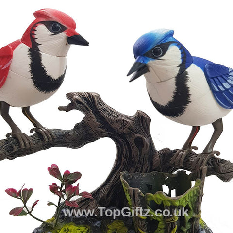 Battery Operated Electronic Birds Singing Moving & Chirping_1