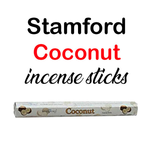 Stamford Coconut Incense Sticks Hexagon Premium Quality