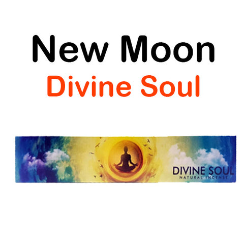 New Moon Divine Soul Natural Incense Sticks Uplifting & Joy