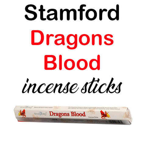 Stamford Dragons Blood Incense Sticks Hex Premium Quality