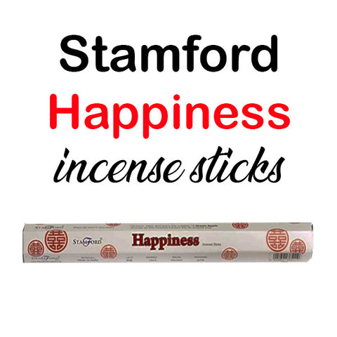 Stamford Happiness Incense Sticks Hex Relaxing Premium