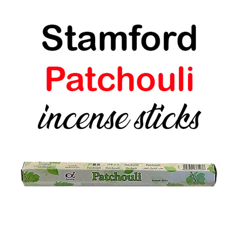 Stamford Patchouli Incense Sticks Hex Premium Quality