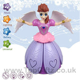 Princess Frozen Anna Infrared Remote Control Rotating Music_3