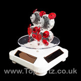 Crystal Clear Teddy Bears Solar/Battery Ornament Turning Base_2