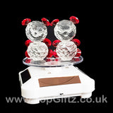 Crystal Clear Teddy Bears Solar/Battery Ornament Turning Base_4