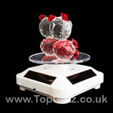 Crystal Clear Teddy Bears Solar/Battery Ornament Turning Base_5