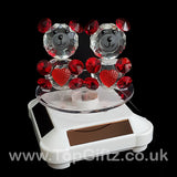 Crystal Clear Teddy Bears Solar/Battery Ornament Turning Base_7