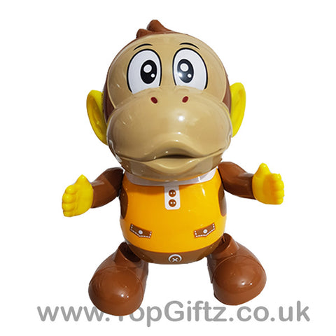 Swinging Monkey Dancing Musical Toy Light Up Singing_1