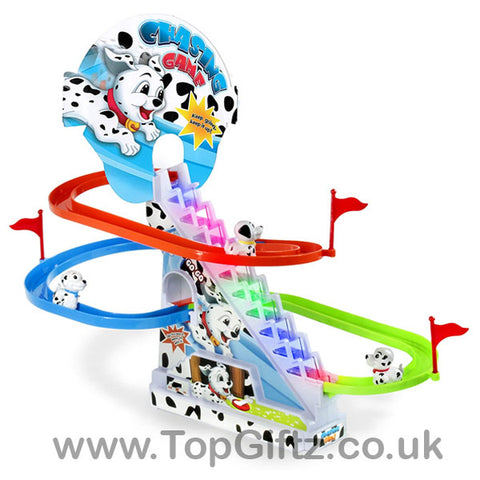 Dalmatian Spotty Dog Chasing Game With Lights & Sound_1