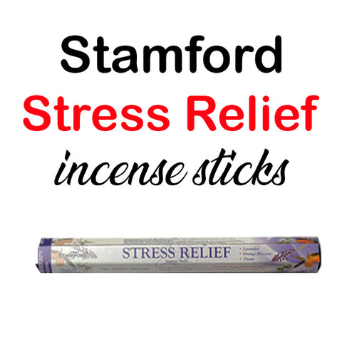 Stamford Stress Relief Incense Sticks Hex Spa Lavender Thyme