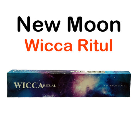 New Moon Wicca Ritual Natural Incense Sticks Ritual & Wiccan
