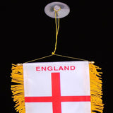 St George England Hanging Car Flag - TopGiftz